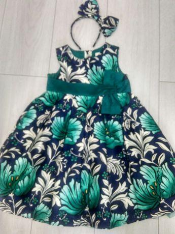 Платье нарядное  GYMBOREE 4 года как Новое! (104-110)