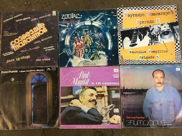 Винил/Пластинка Поль мориа, Наутилус Помпилиус, Deep Purple,Zodiac