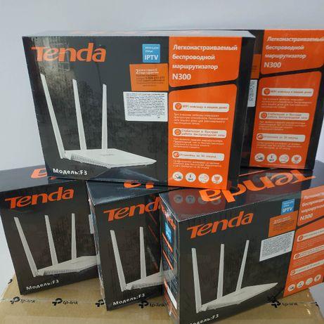 Роутер маршрутизатор Tenda F-3 N300 3 антени