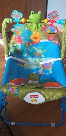 Leżaczek bujaczek krzesełko 3w1