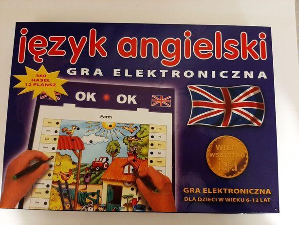 Angielska edukacyjna gra elektroniczna
