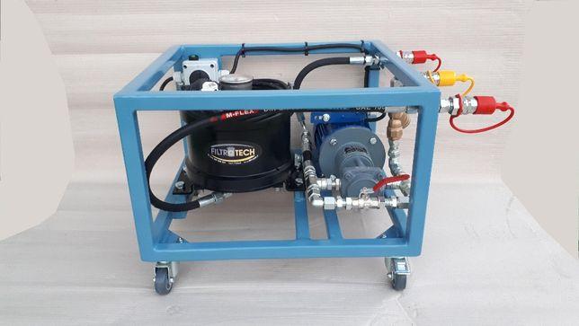 Agregat filtracyjny, oczyszczanie oleju, oczyszczanie paliwa