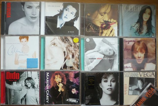 zestaw 6xCD Cher, S. Vega, Dido, M. Carey