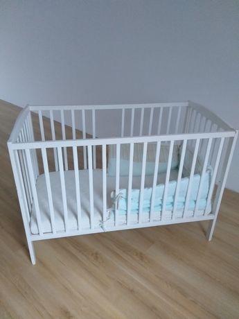 Łóżko dziecięce szczebelkowe 120x60