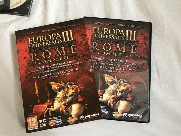 Europa Universalis III 3 + Rome - Gra PC