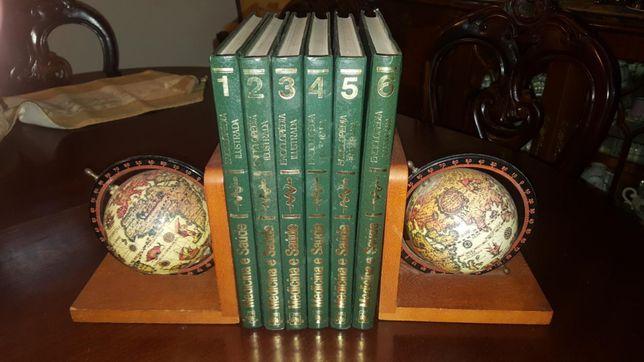 Enciclopédia ilustrada medicina e saúde 6 volumes