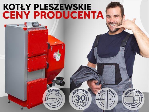 35KW 5 klasa na ekogroszek Kocioł kotły piec 100% żeliwny podajnik