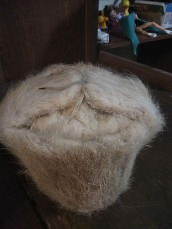 Натуральная шапка из нутрии