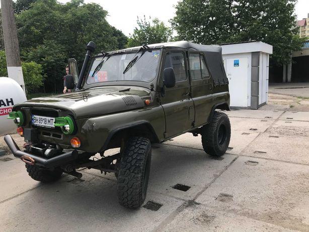 Подготовленный УАЗ 469