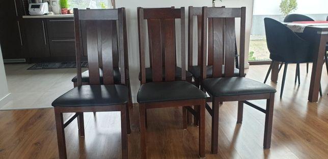 Krzesła bukowe, komplet