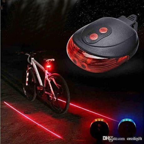 Задний стоп с лазером для велосипеда, задний фонарь, вело стоп
