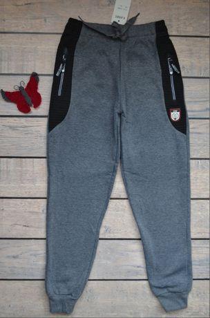 Утепленные подростковые брюки спорт для школьников