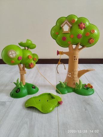 Domek  dla koników laleczek drzewka