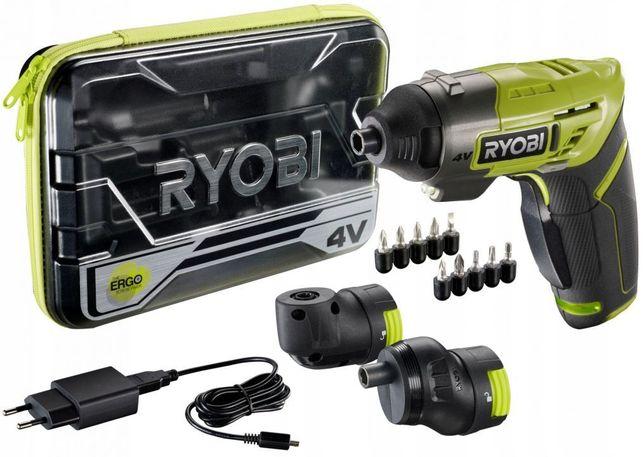 RYOBI ERGO-A2 WKRĘTARKA 4 V ZESTAW ERGO MICRO USB