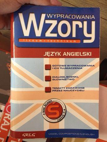 Wzory wypracowania język angielski ściąga