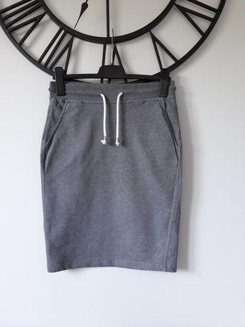 Spódnica House M 38 sportowa szara kieszenie z kieszeniami nowa