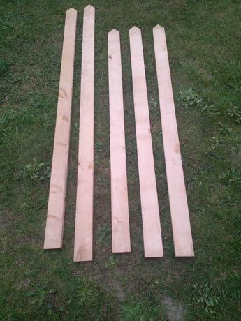 Sztachety drewniane olchowe