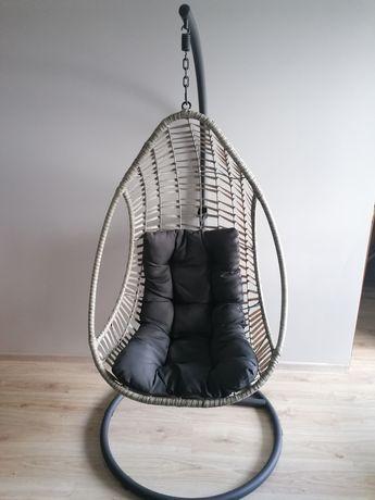 Tarasowy ogrodowy fotel wiszący Crescent Delux