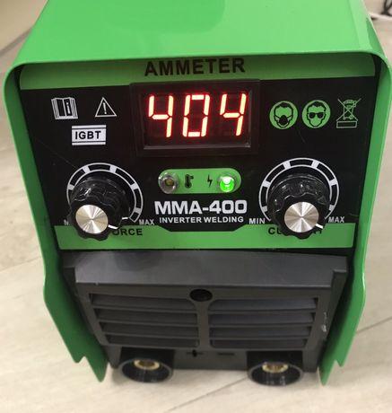 Сварка, сварочный аппарат FLINKE MMA-400. Два регулятора,табло. 400А