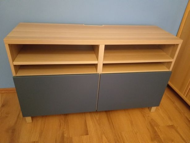 Ława TV z drzwiami ( System Besta z  IKEA)