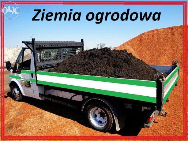 Ziemia ogrodowa ,torf, czarnoziem, z transportem Radzymin , Warszawa