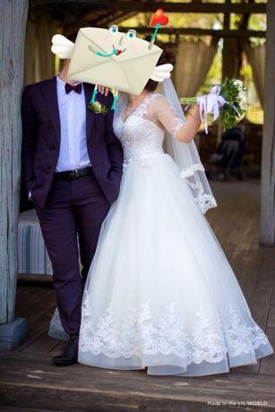 Продажа шикарного свадебного платья