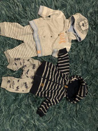 Bluzy i spodnie dla chlopca 62-68 paka
