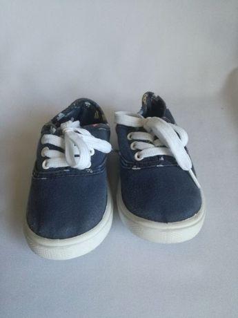 Trampki trampeczki tenisówki buciki dziecięce chłopięce dżinsowe 24