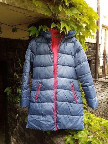 Oryginalna kurtka zimowa firmy Benetton kobieca / młodzieżowa