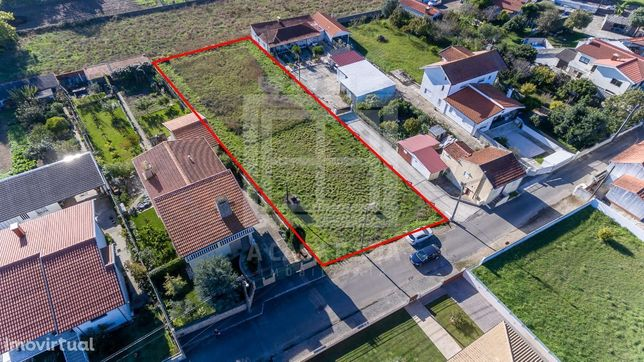 Terreno Urbano com 1 519 m2 em São João de Ovar