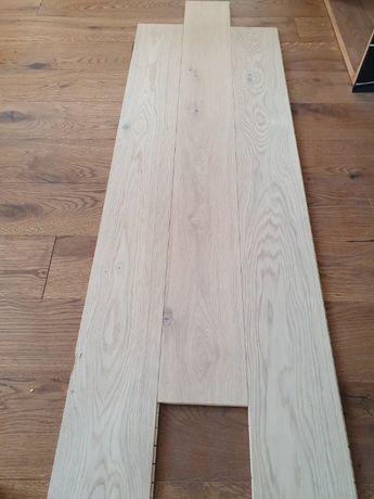 Deska 11x150x1330 dąb, olej efekt surowego drewna