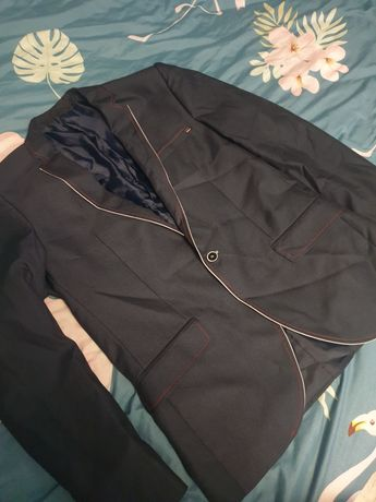 Marynarka męska +spodnie gratis. Super stan!