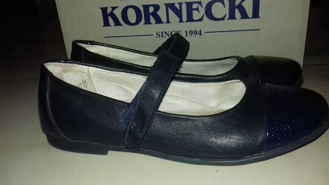 Baleriny Kornecki 34 wkładka 22 cm