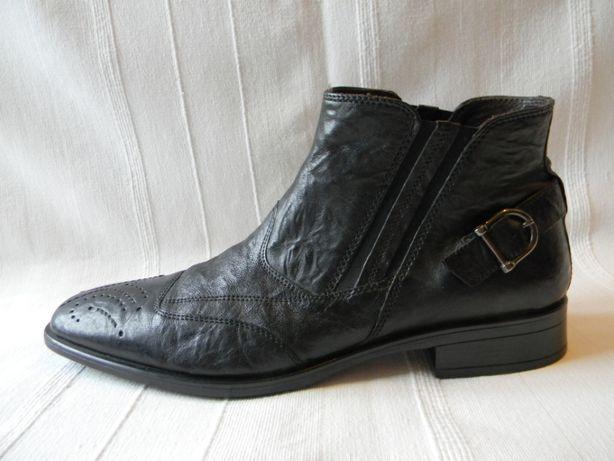 Кожаные полусапожки ботинки Borelli р.45