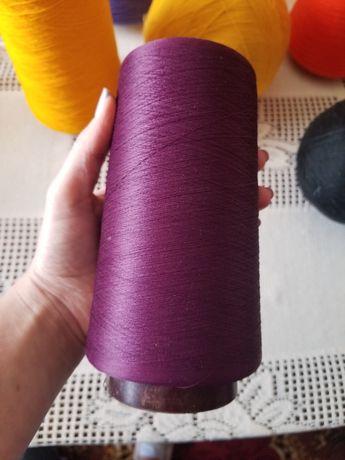 Нитки для вязания вишивки. Полушерсть, акрил, шелк.
