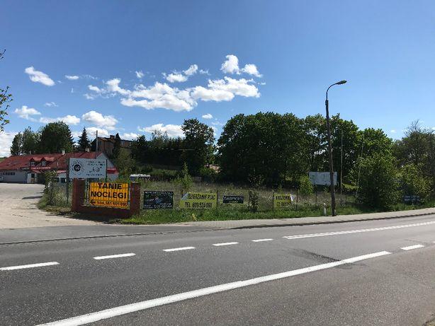 WYNAJMĘ Plac 26 arów Kwidzyn - przy głównej trasie 55 na Malbork