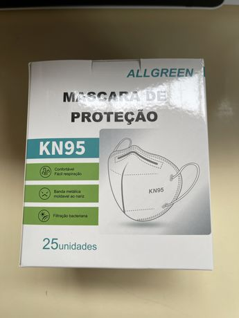 Lote mascaras KN95 embalagem individual