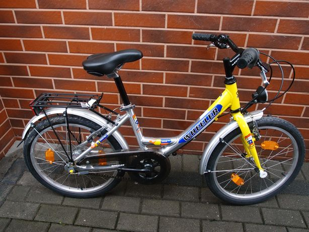 nowy dziecięcy rower Wheeler 220 Junior 12' trzybiegowy kola 20