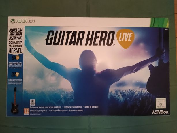 Guitar Hero Live na Xbox 360