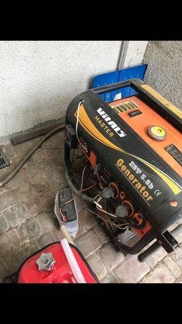 Генератор с AVR 6,5 кВт б/у