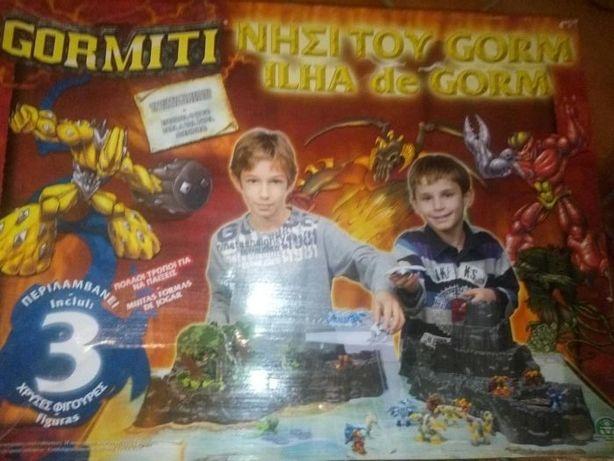conjunto brincar Kit Gormiti