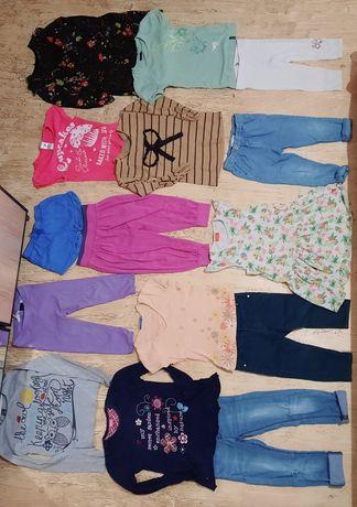 Пакет вещей одежда девочка 116см платье джинсы бриджи кофта шорты