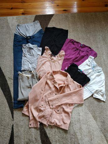 Ubrania ciążowe. H&M, New Look, Benetton, Dorothy Perkins. Roz. S/M