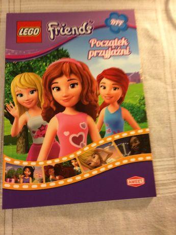 Książka - Początek przyjażni Friends