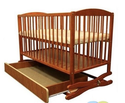 Детская кроватка klups radek 2