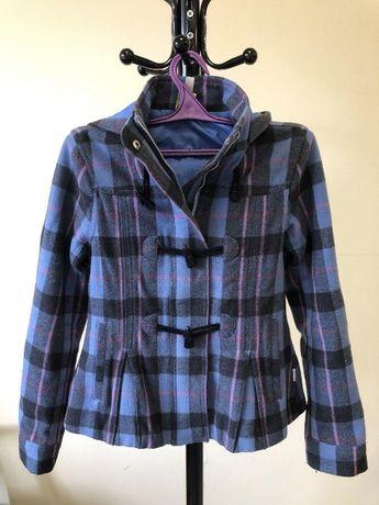 Куртка женская с капюшоном adidas 36-38р. б/у