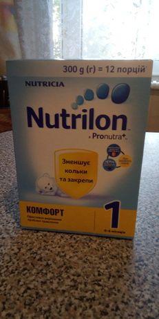 Детская сухая смесь нутрилон Pronutra+ 1. 300грамм.