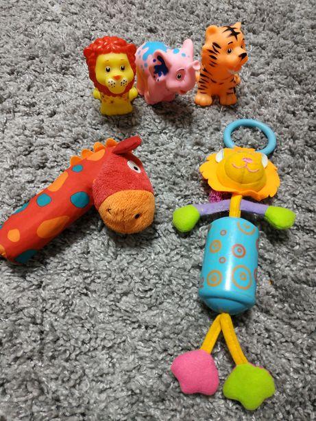 Іграшки, погрімушки, піщалки