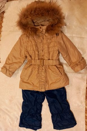Срочно.Комбинезон зимний ВойчикWojcik 116 курточка штаны 122