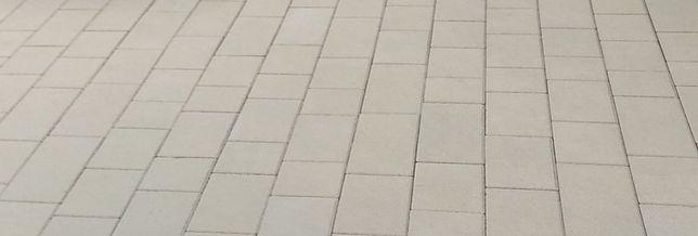 Kostka brukowa SPARTA 6cm kostka prosta GRAFIT kolor jednolity SZARA